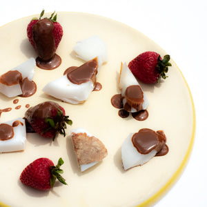 Instant Chocolate Coconut and Strawberries
