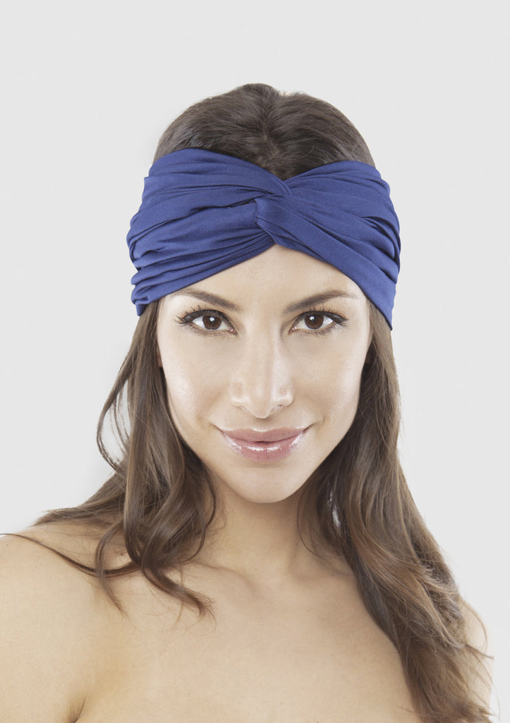 Turn turban Navy