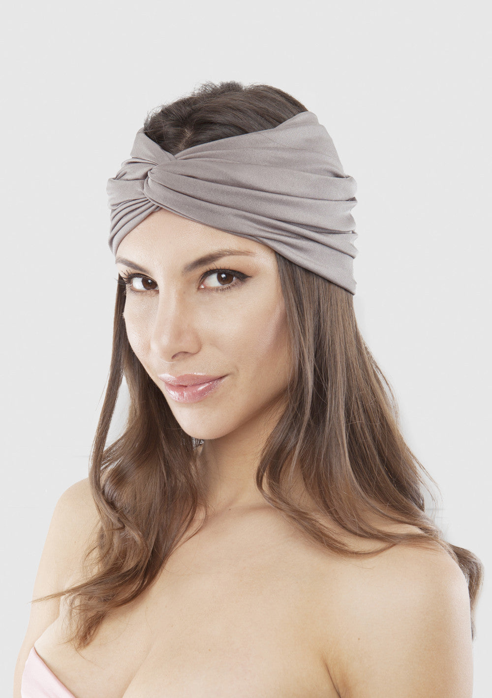 Turn turban Grey