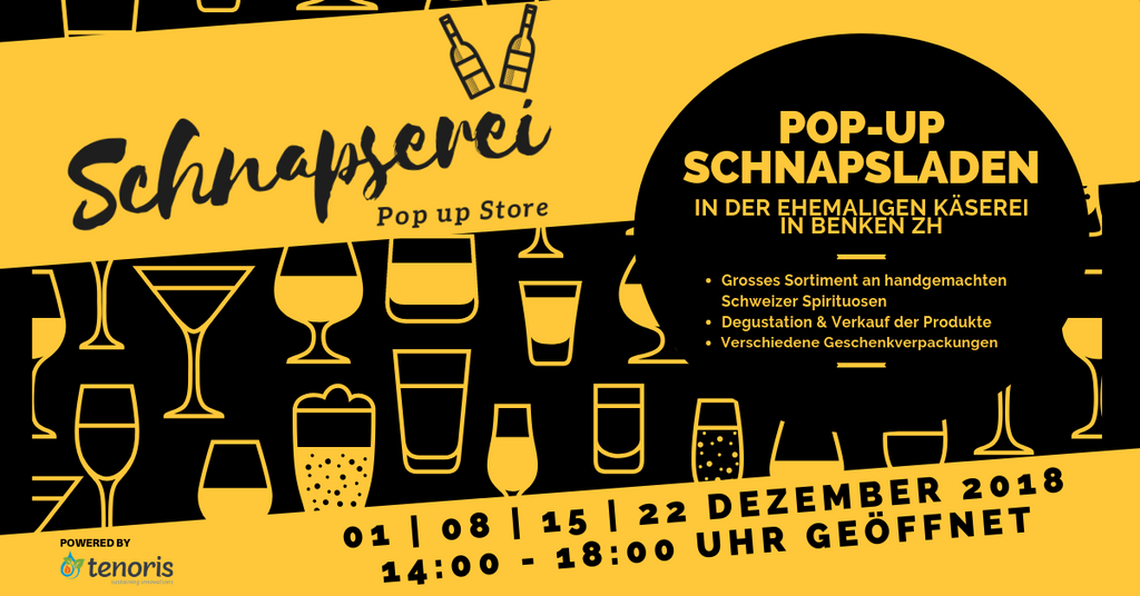 Schnapserei Pop-up Store Benken ZH