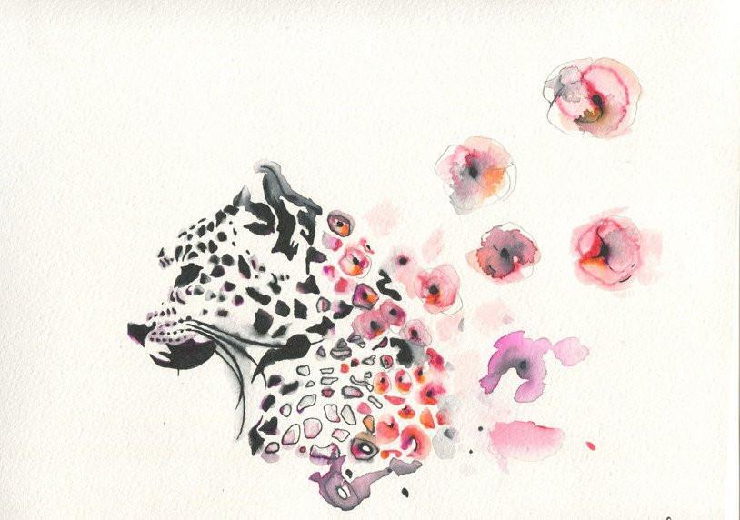 Cheetah's Colorful Spots Print