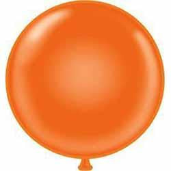 "24"" Orange Latex Balloon-Balloons-BerryPom & James"