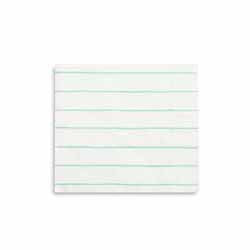 Frenchie Striped Mint Small Napkin-Paper Napkins-BerryPom & James