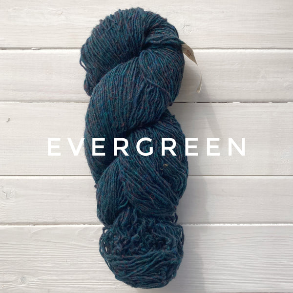 Briggs and Little Sport yarn in Canada Evergreen