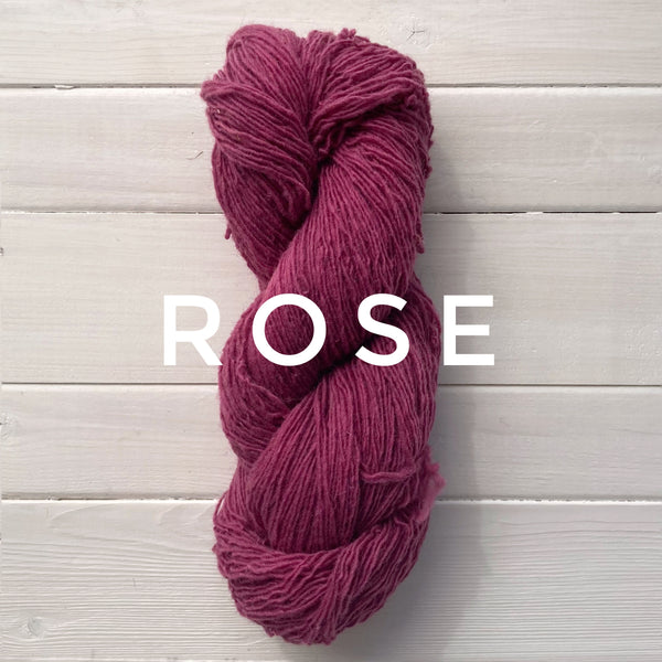Briggs and Little Sport yarn in Canada Rose