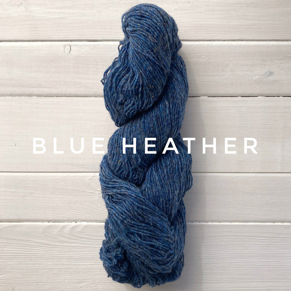 Briggs and Little Sport yarn in Canada Blue Heather