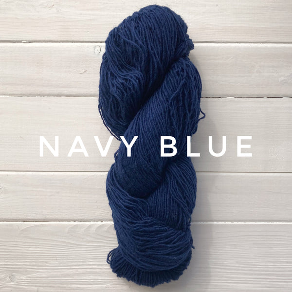 Briggs and Little Sport yarn in Canada Navy Blue