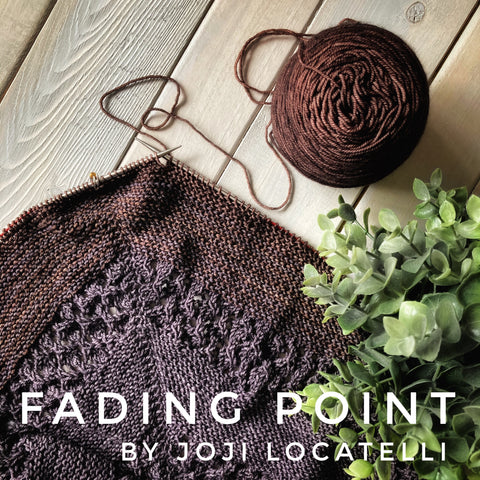 Joji Locatelli Fading Point Shawl yarn kit in Canada