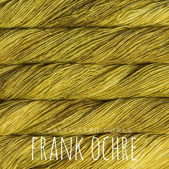 Malabrigo Mechita yarn in Canada Frank Ochre