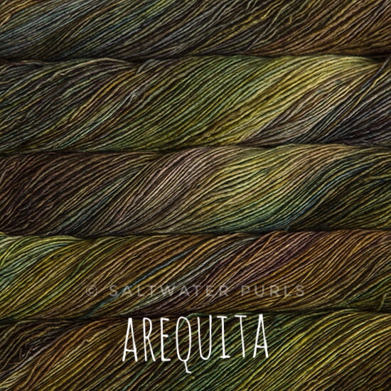Malabrigo Mechita yarn in Canada Arequita