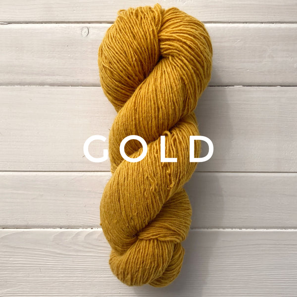 Briggs and Little Sport yarn in Canada Gold