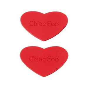 ChiaoGoo Red Heart Rubber Grippers