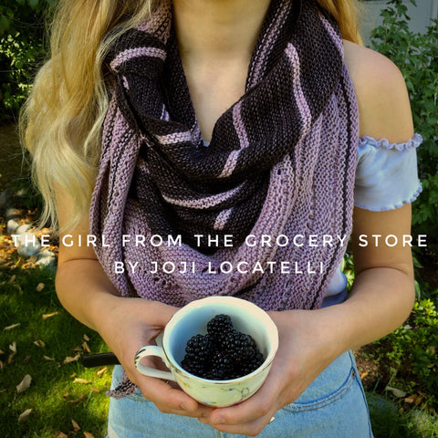 the Girl from the Grocery Store by Joji Locatelli yarn kit