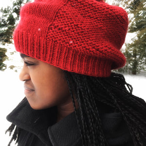 Learn to knit starter kit Barley hat in Canada