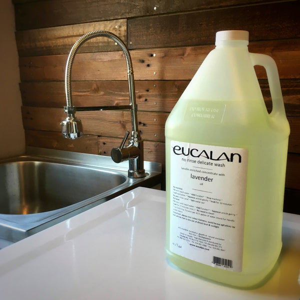 Eucalan No Rinse Wool Wash in Canada 4L 1 gallon Lavender