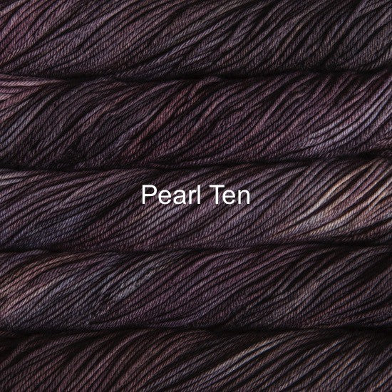 Malabrigo knitting yarn Rios Canada Pearl Ten