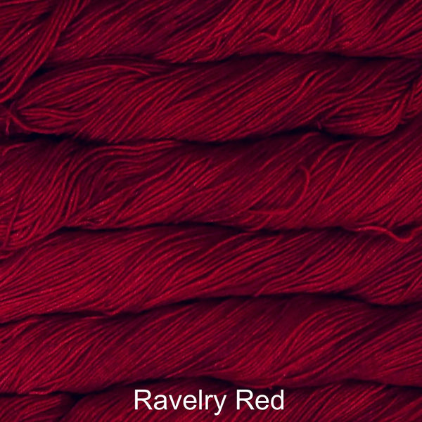 Malabrigo Sock fingering weight yarn in Canada 611 Ravelry Red