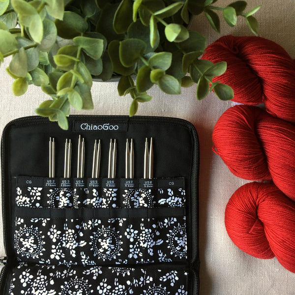 ChiaoGoo Twist Red Lace Interchangeable Needle Set in Canada