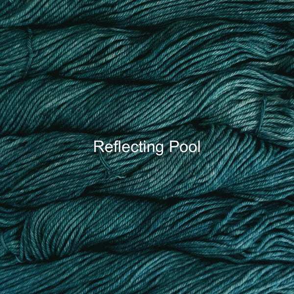 Malabrigo Rios yarn in Canada Reflecting Pool