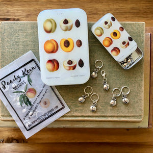 Firefly Notes peach stitch marker project keeper Canada