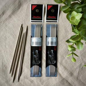 ChiaoGoo double pointed needles DPNs stainless steel in Canada