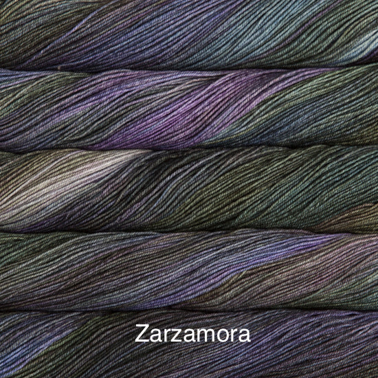Malabrigo Sock fingering weight yarn in Canada 863 Zarzamora