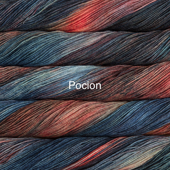 Malabrigo sock knitting yarn Pocion