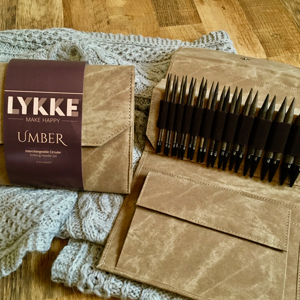 Lykke Driftwood Interchangeable Circular Needle Set