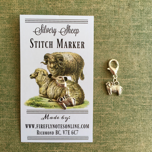 Stitch Markers & Progress Keepers