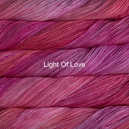 Malabrigo Sock fingering weight yarn in Canada 857 Light of Love