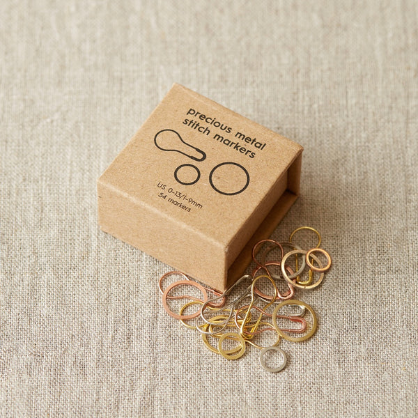 CocoKnits Precious Metal Stitch Marker Ring Removable Canada