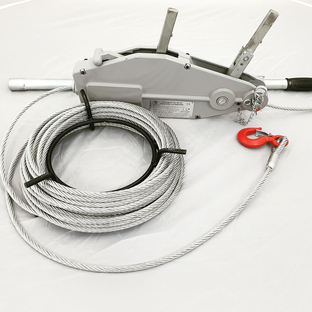 NEW PRODUCT - Planeta Wire Rope Pullers