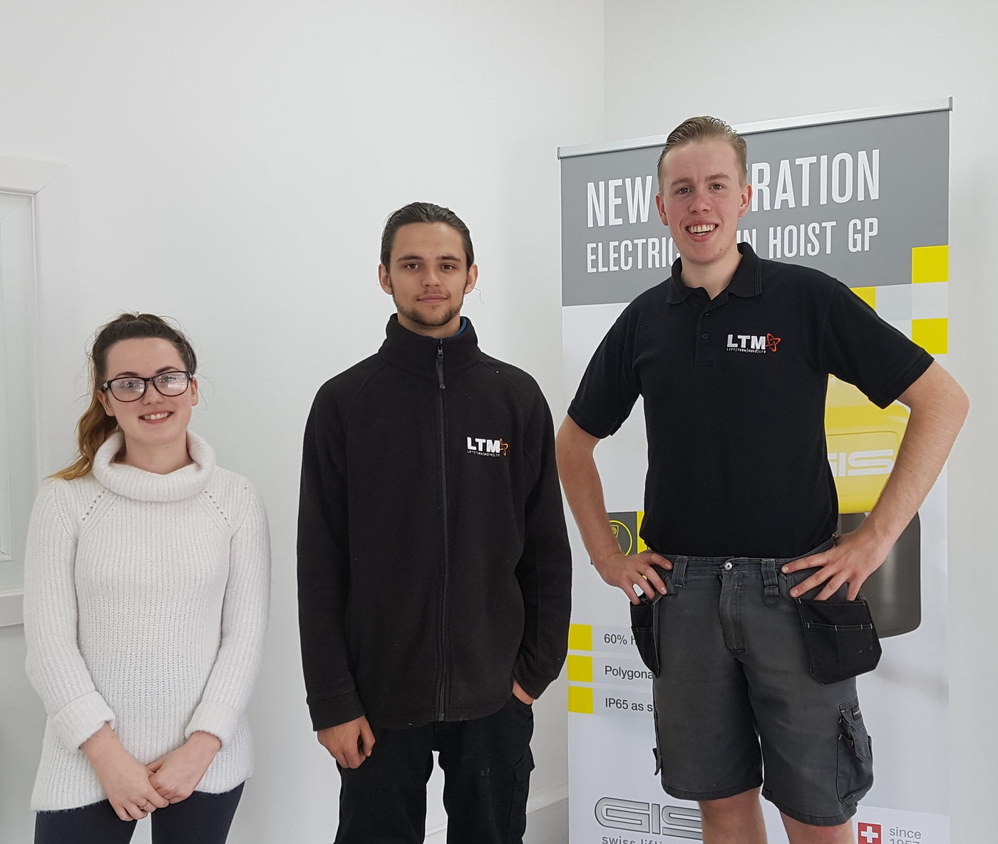 PRESS RELEASE - Two LTM Apprentices Now Full Time Staff Members