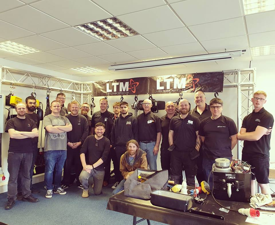 LTM Opens New Hoist Training Room