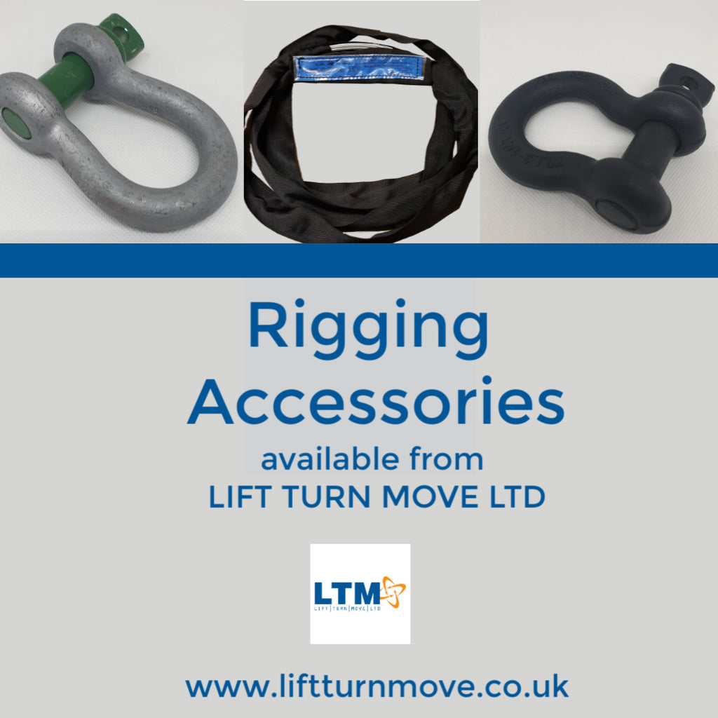 LTM now stocking a full range of Rigging Accessories