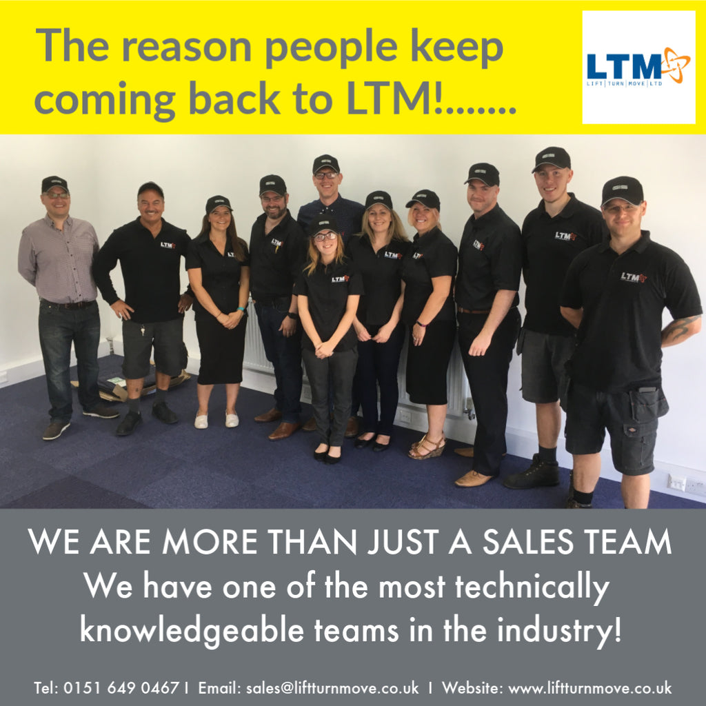 Why so many of our customers choose LTM!