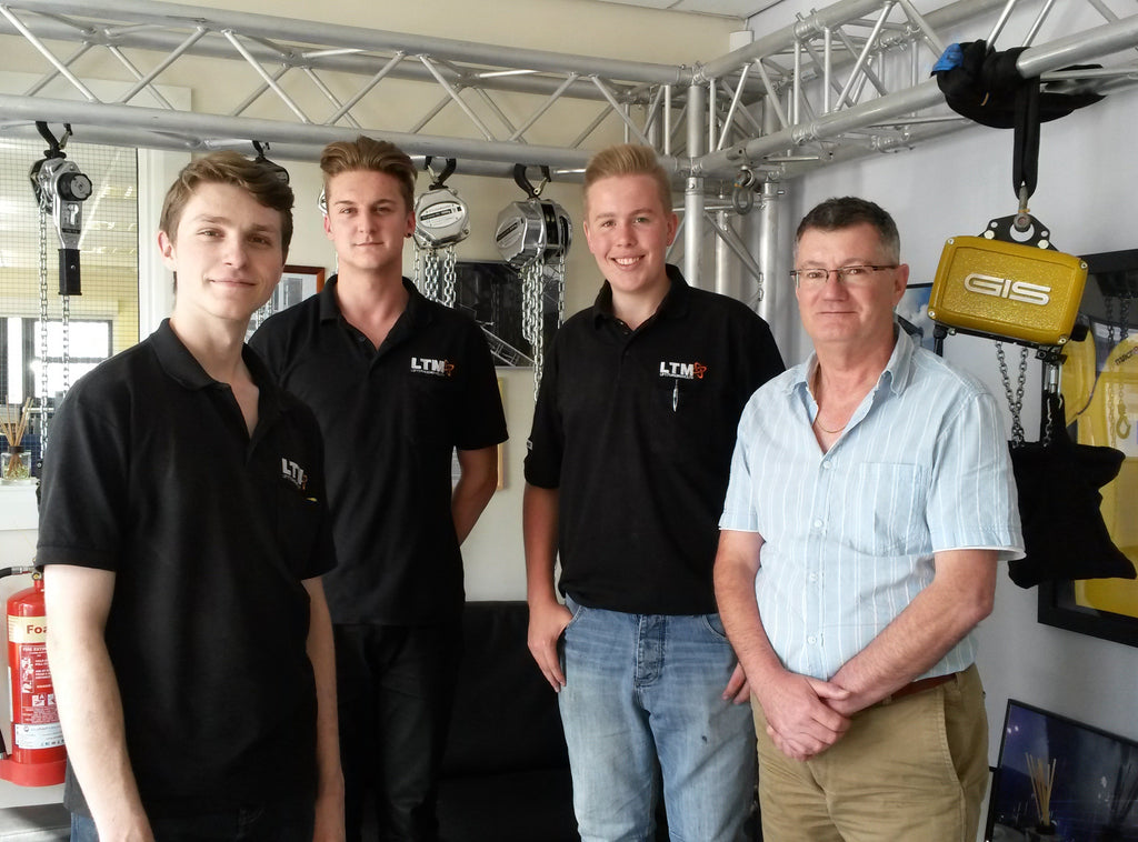 We've recruited three new apprentices!