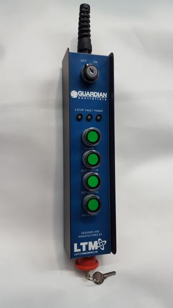 Guardian Industrial Controller Range - Wall Mounted - Direct Control - LTM Lift Turn Move
