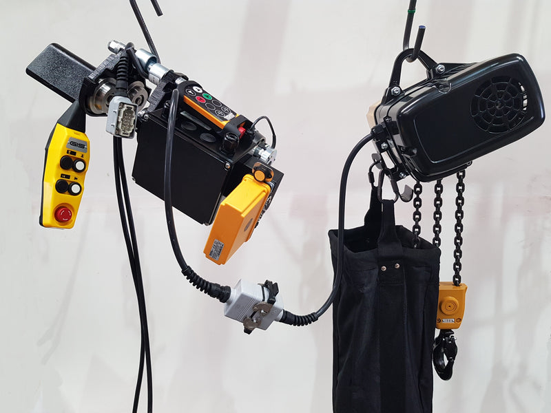 Radio Control Hoists - LTM Lift Turn Move