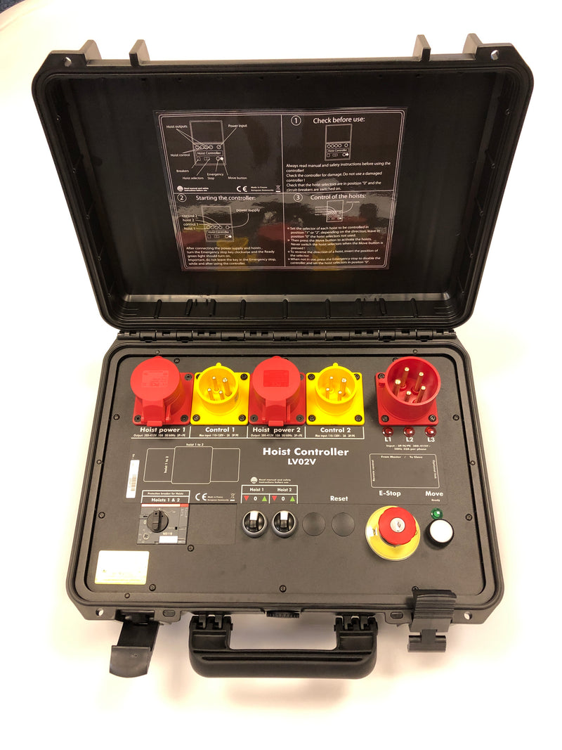 G-Pro Briefcase Controller - 2 & 4 Channel Portable Controllers