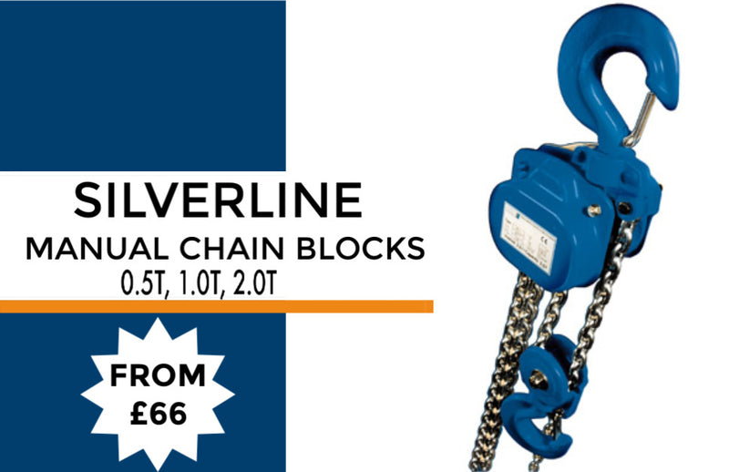 Silverline Manual Hand Chain Block