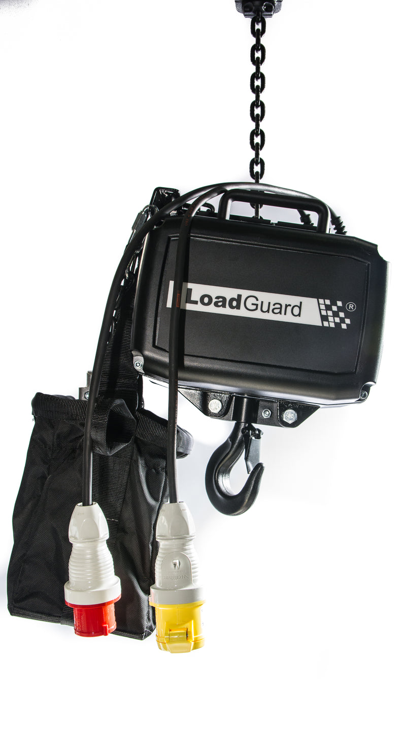 LG Entertainment Chain Hoist for General Rigging purposes to D8 guidelines - Lifting Capacity 1600kg - 5000kg - LTM Lift Turn Move