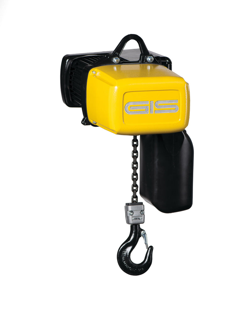 GIS Hoists with frequency inverter, Type GP/GCH-FU series - LTM Lift Turn Move