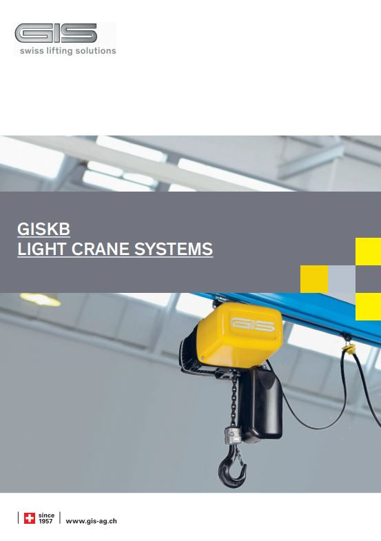 GIS KB Light Crane System - Datasheet - LTM Lift Turn Move
