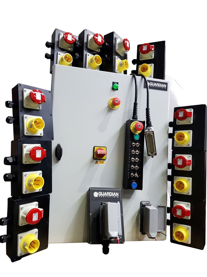 Guardian Controller Range - Wall Mounted - Low Voltage - LTM Lift Turn Move