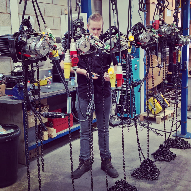 Test and Inspection of LoadGuard Hoist