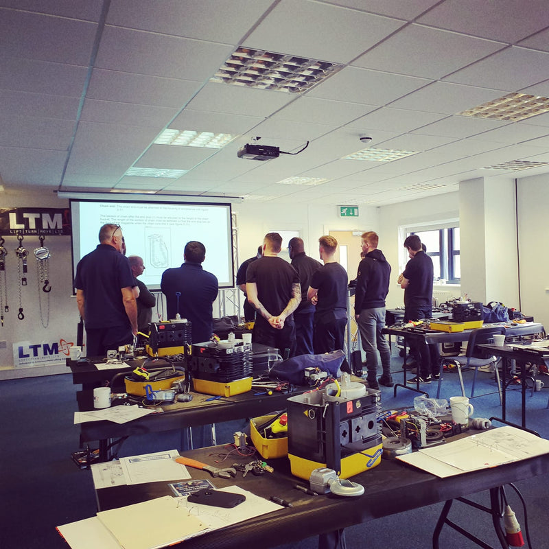 GIS Hoist Training