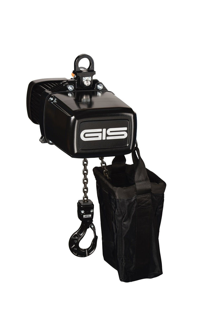 LP Entertainment Chain Hoists to BGV C1 German Safety guidelines - Lifting Capacity 400kg