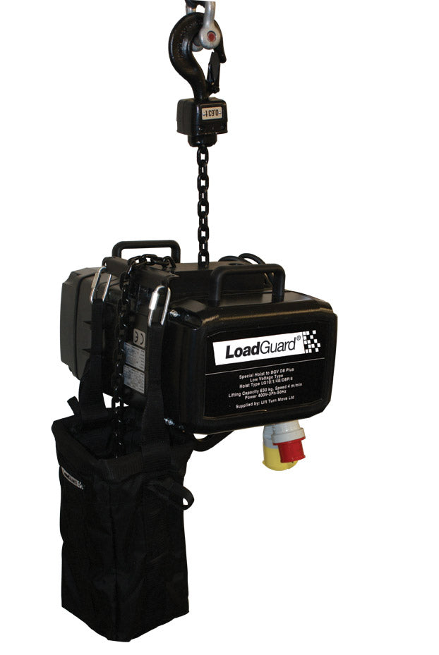 LG Entertainment Chain Hoists for General Rigging Purposes to D8 PLUS guidelines - Lifting Capacity 630kg - 2500kg