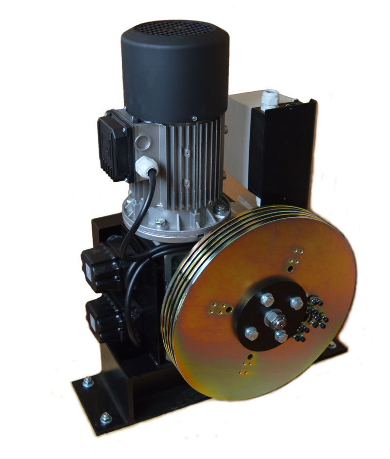 Powered Pile wind Winch 250kg, 500kg, 1000kg - Single Brake - LTM Lift Turn Move